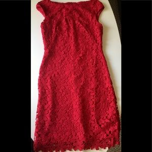 Ralph Lauren  ❤️ red mid-length dress.NEW